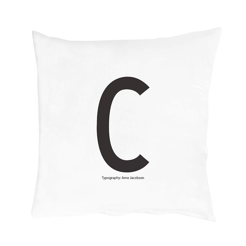 design letters örngott