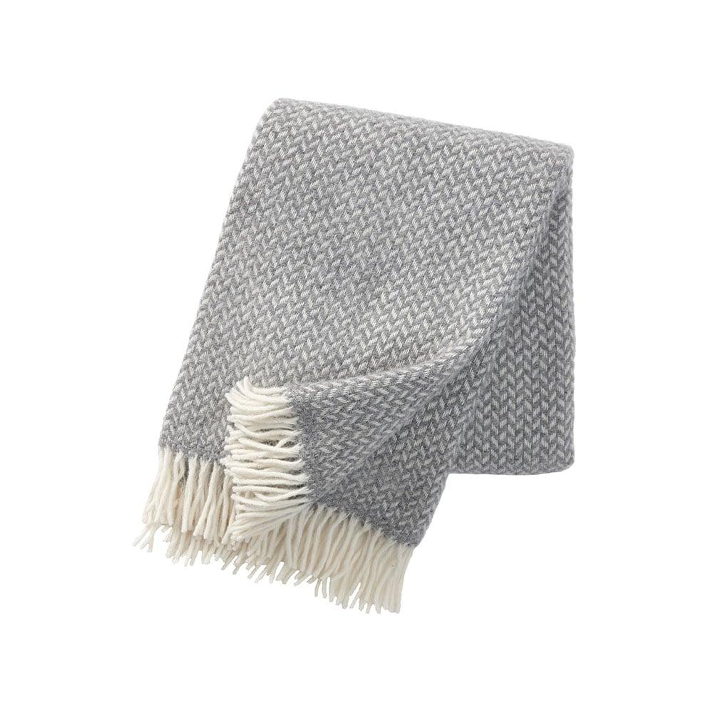 klippan filt grå