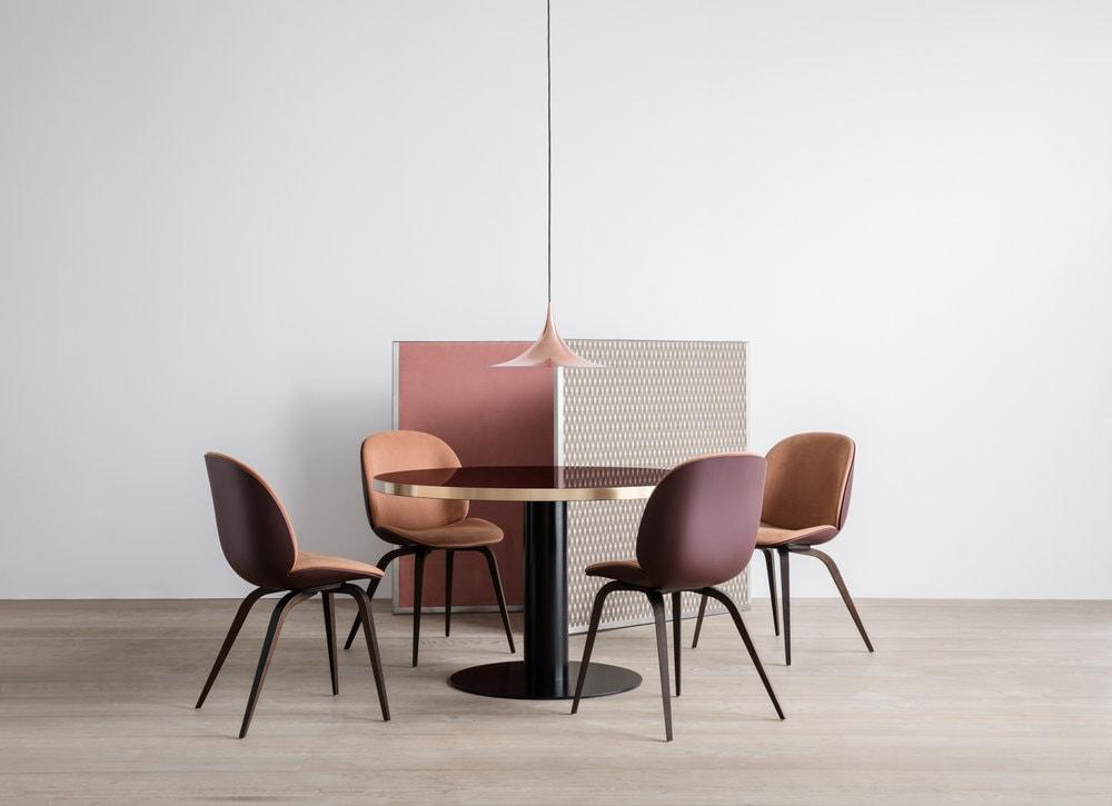Semi Pendel Ø30 cm, Matt Svart   Belysning, Lampor, Geometrisk