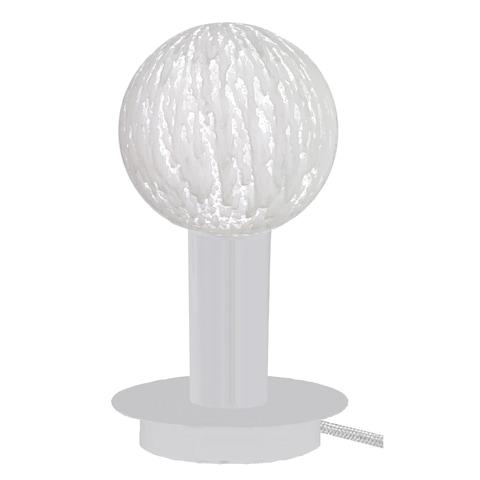 Batteridriven Lampa Coral Ametist av sandsten från By On