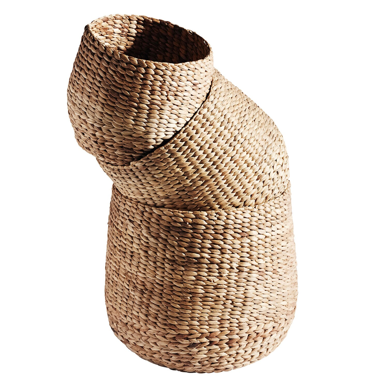 Basket Korg Rund 3-Pack - Muubs   RoyalDesign.se 6d83ae4bb98a6