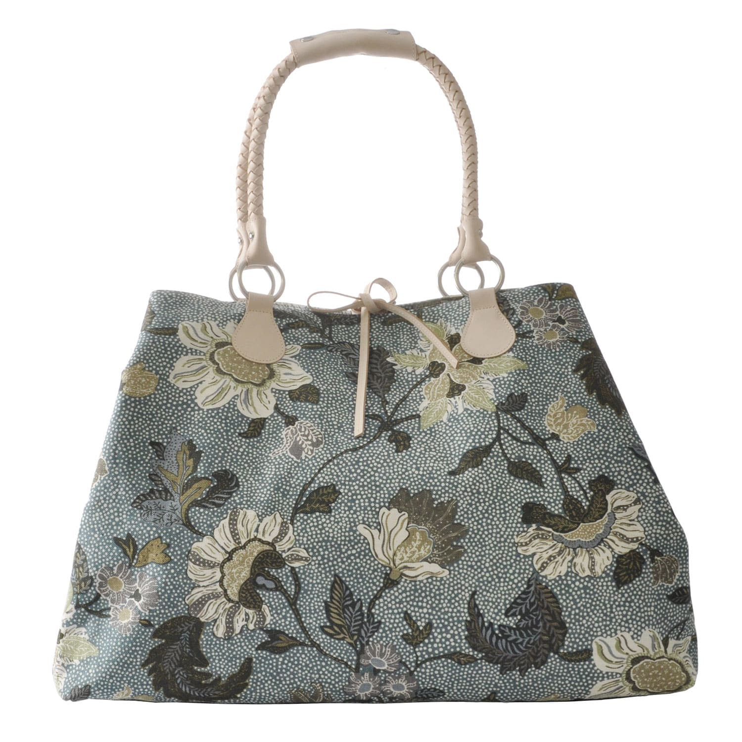 Flower Linen Weekend Bag 6288b13130432