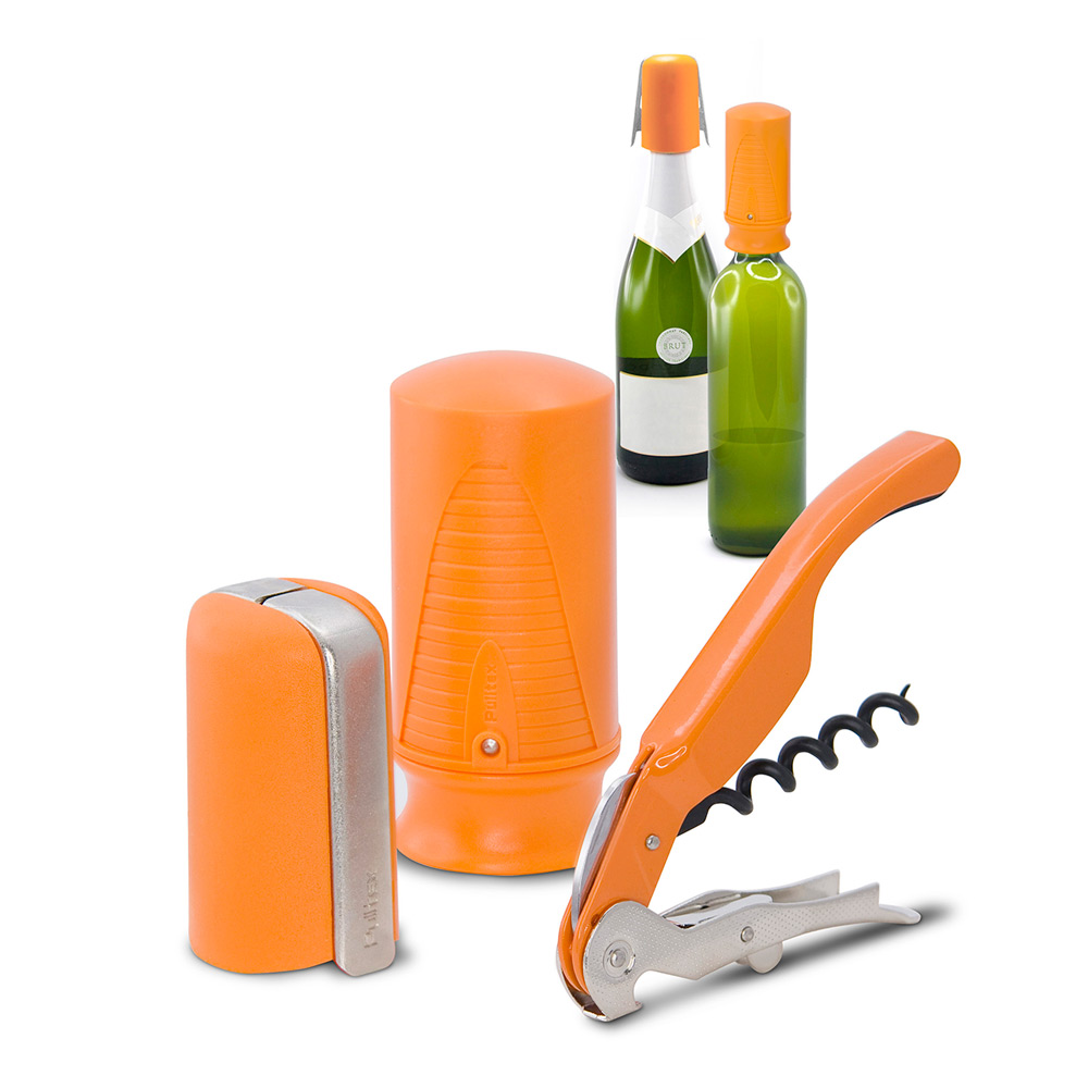 Vin- och Champagne Startset Orange 3-delar