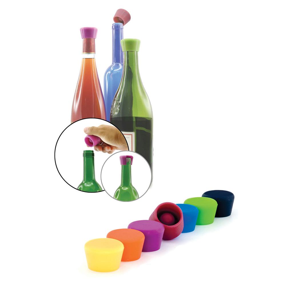 Silikonstopper till vin 2-Pack