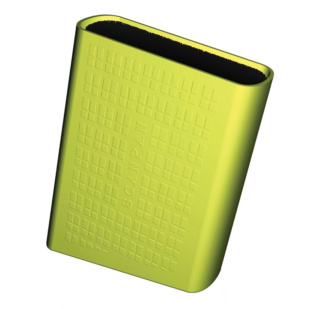 Spectrum Knivblock med borst-förvaring grön