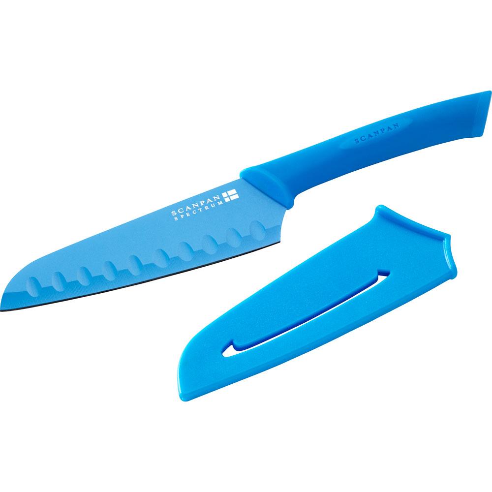 Spectrum Santokukniv 14 cm blå