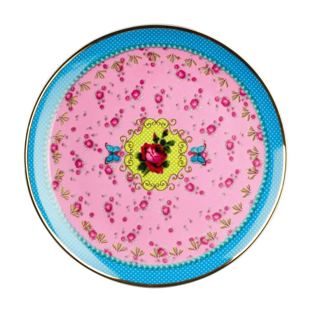 Sweet Rose Tallrik 21 cm