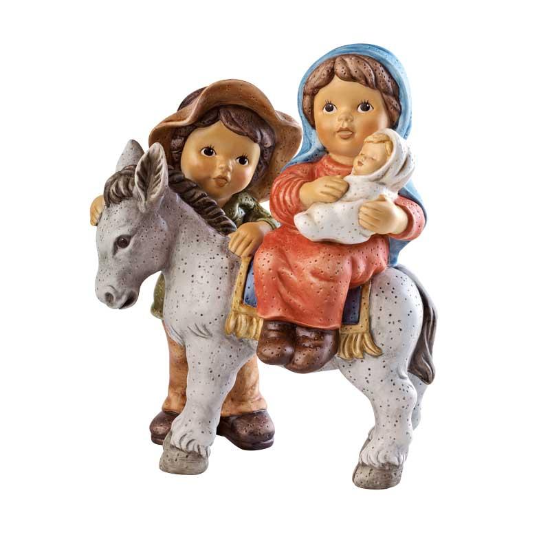 Man och kvinna med åsna