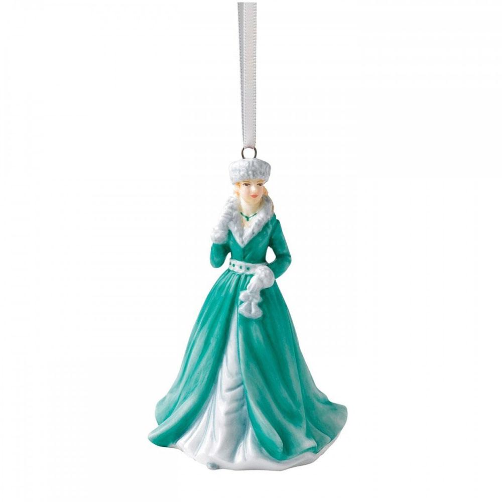 Christmas Ornament Silver Bells 7,5 cm
