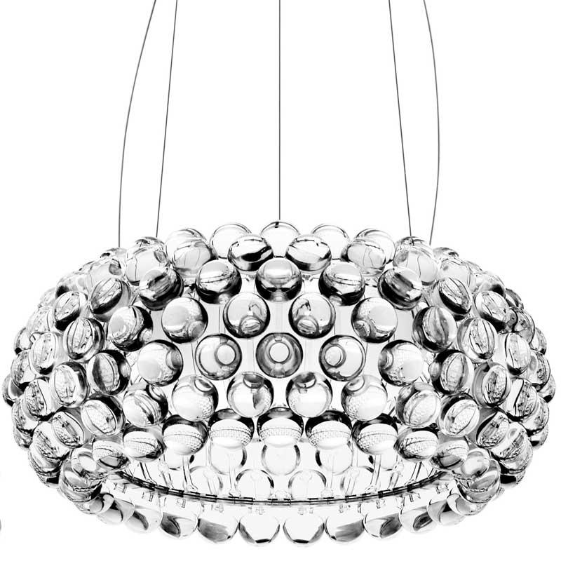 Caboche taklampa m transparent patricia urquiola for Designerlampen replica