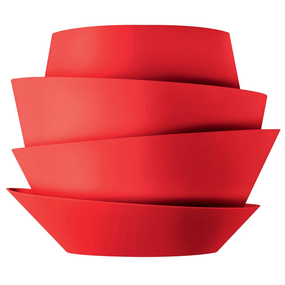Le Soleil Vägglampa Röd