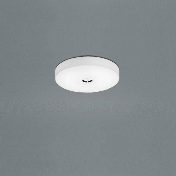 Mini Button Lampa, Vit