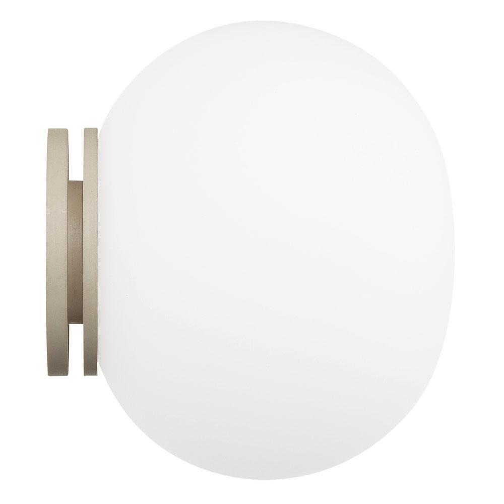 Mini Glo-Ball C/W Lampa, Spegelmontering, Flos