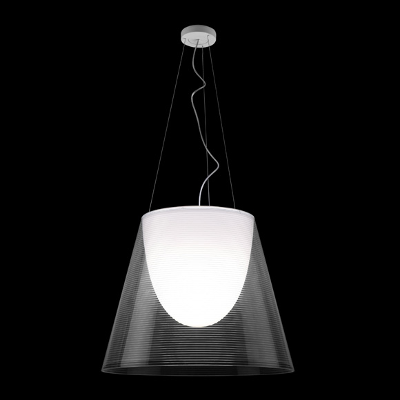 Ktribe S2 Eco Taklampa Transparent
