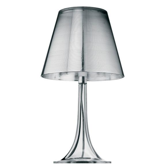 Miss K T Bordslampa, Silver, Flos