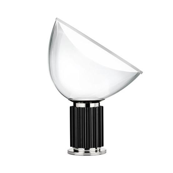 Taccia Small Bordslampa, Svart/Vit, Flos