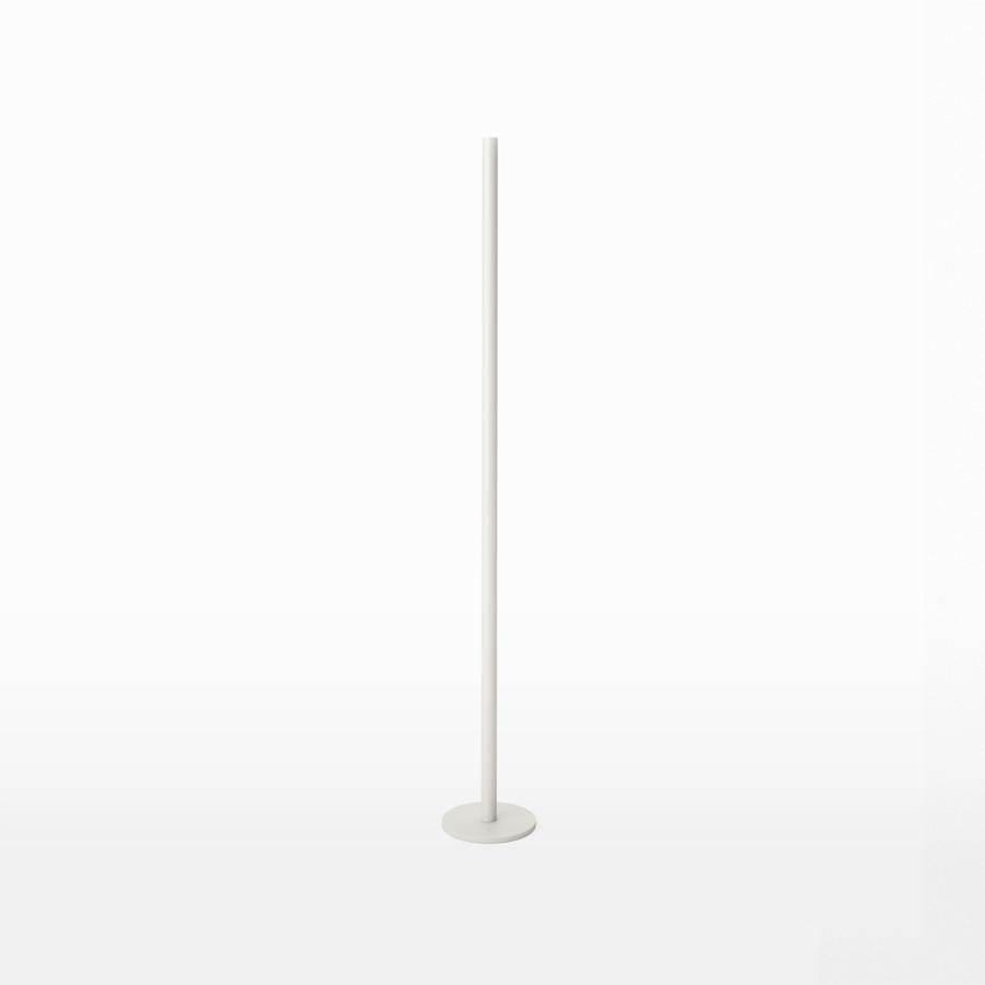 LO Golvljusstake i Järn 110 cm, Vit, Röshults