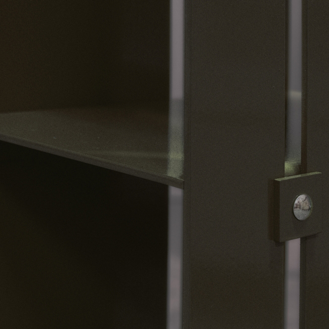 Manhattan Cabinet Hylla Brons