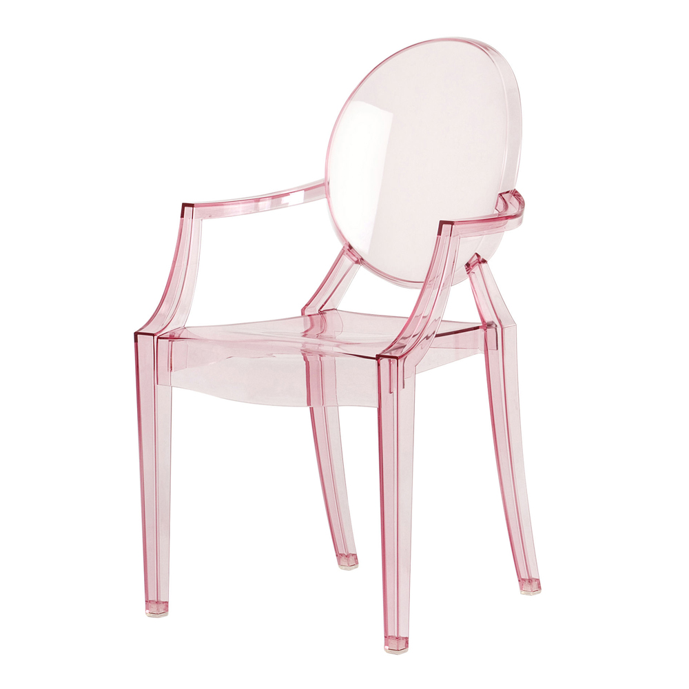Lou lou ghost stol baby rosa philippe starck kartell - Chaise kartell pas cher ...