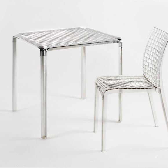 Ami Ami Bord Kristall/Aluminium