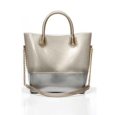 Grace K Shoppingväska Guld/Krom