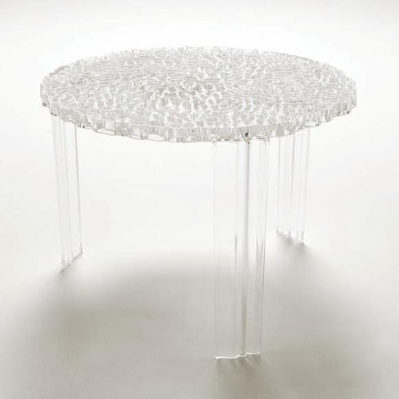 T-Table Sidobord Kristall