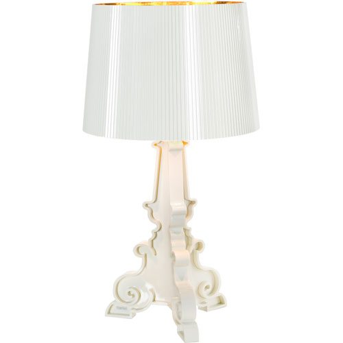 Bourgie Lampa Vit/Guld