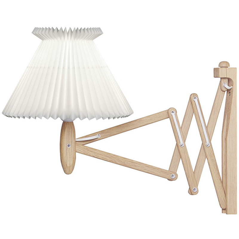 Le Klint 324 Saxlampa Med Plastskärm 60 cm Ek