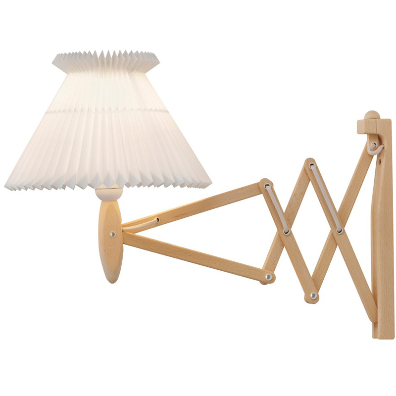 Le Klint 324 Saxlampa Med Plastskärm 60 cm Bok