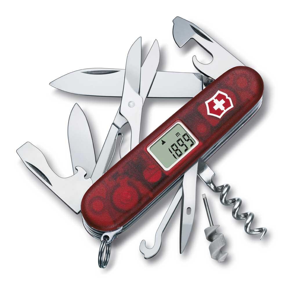 Fickkniv Traveller alti- baro- & termometer & 4 kl