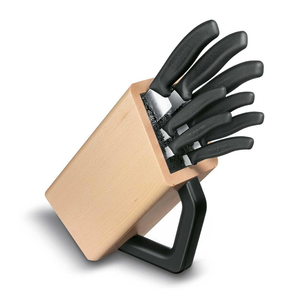 SwissClassic Knivblock 8 delar