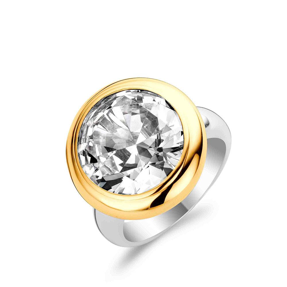 Ti Sento Ring Silver/Guld