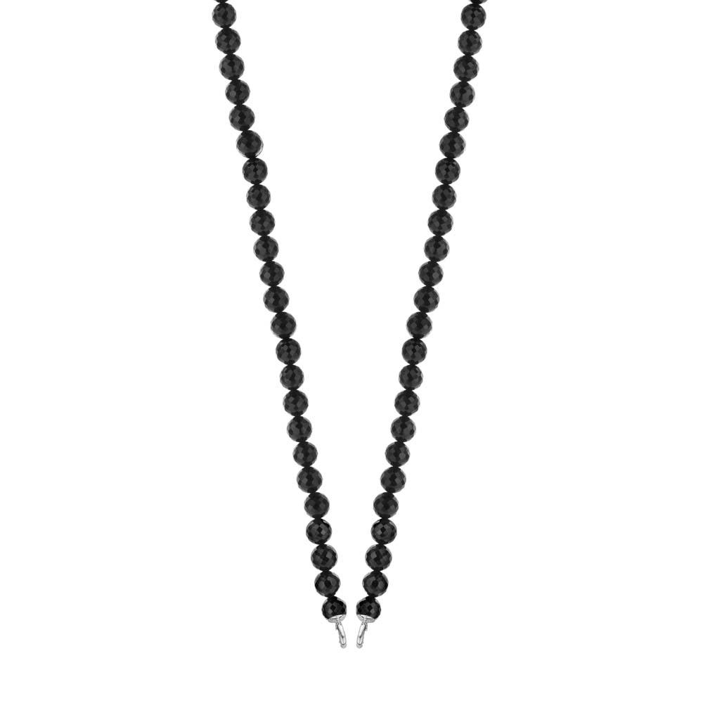 halsband svarta stenar