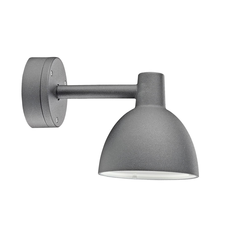 Toldbod Vägglampa ø155 mm aluminium lackerad