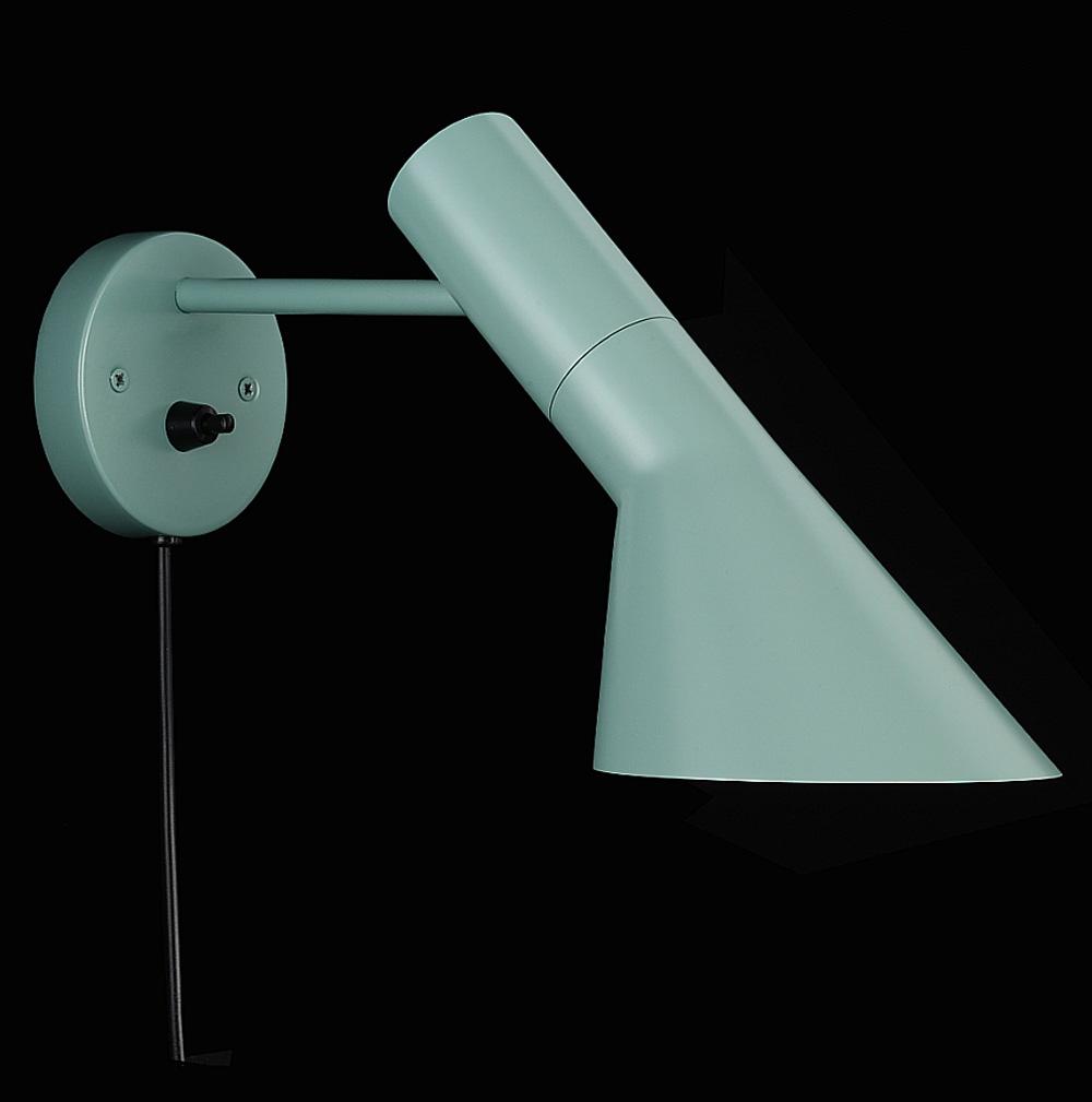 AJ Vägglampa 1810 (blå/grön) vridbar