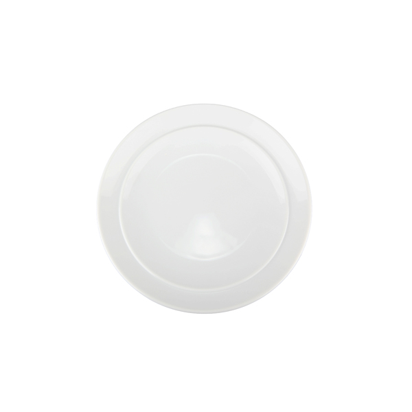 White By Denby Coupe Assiett, 185 mm