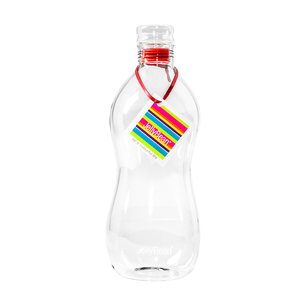 JellyBean Bubble Flaska Röd, 95 cl