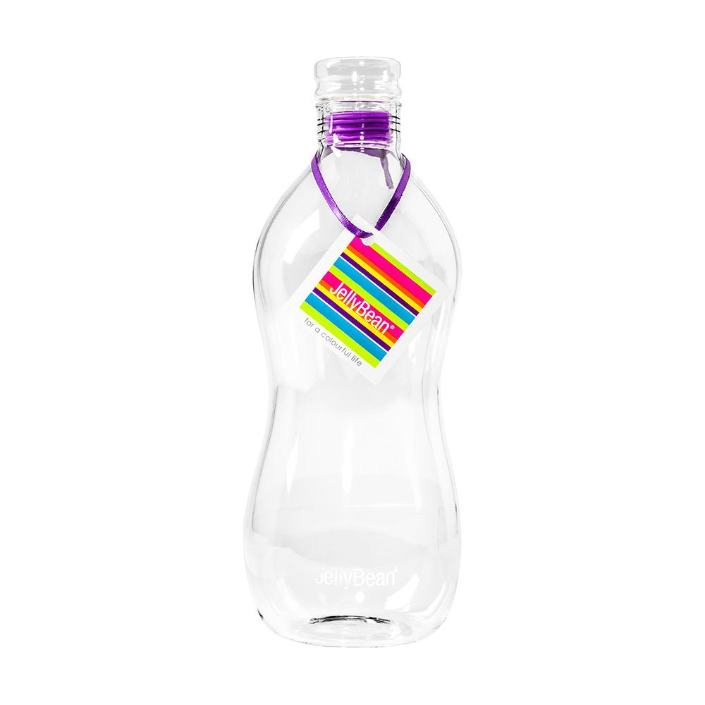 JellyBean Bubble Flaska Lila, 95 cl
