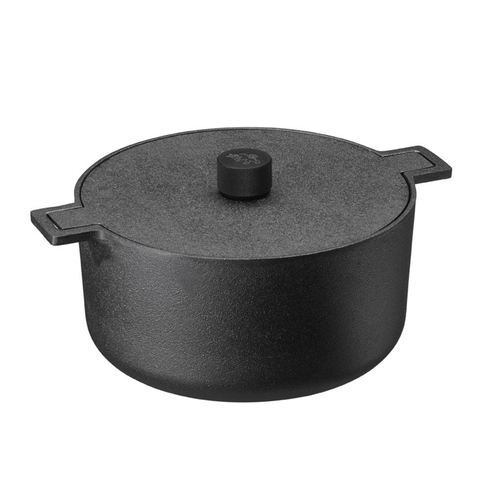 Noir Gryta Med Lock, 5 L, Skeppshult
