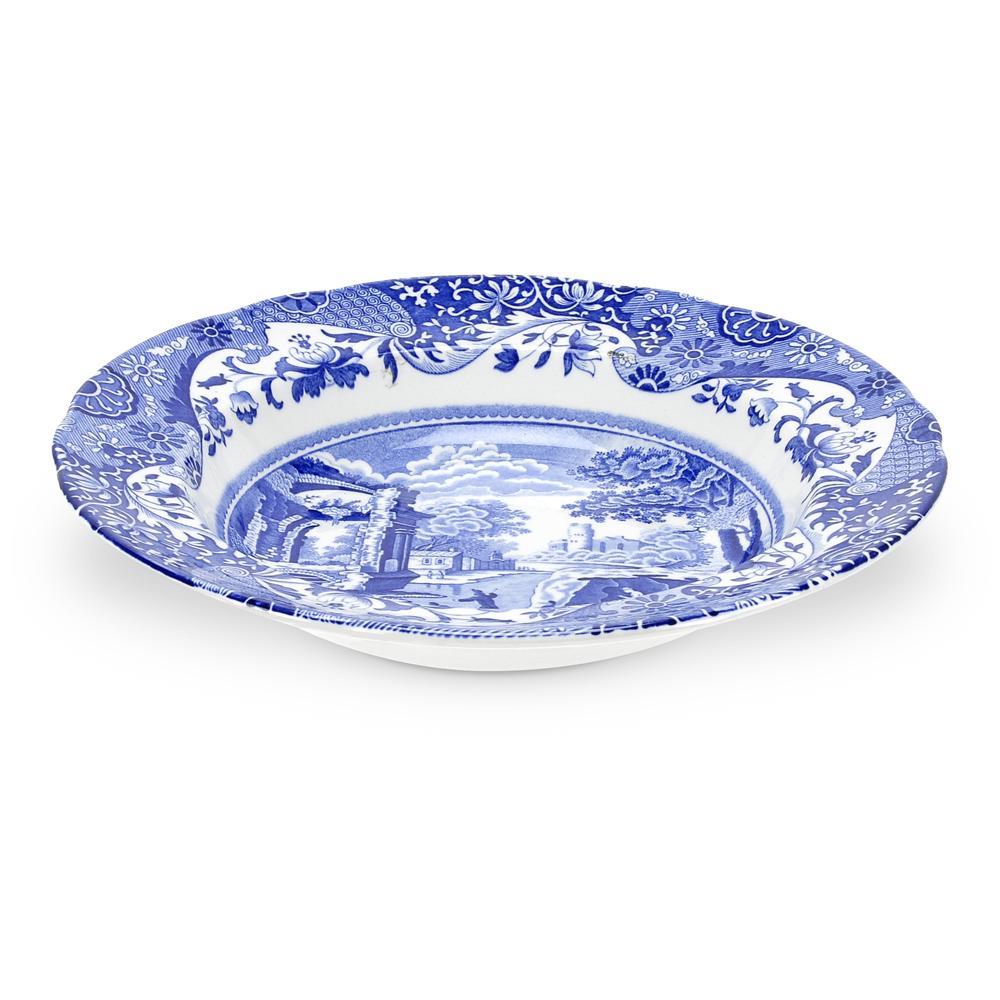 Blue Italian Sopptallrik 230 mm