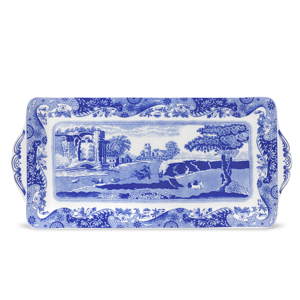 Blue Italian Smörgåstallrik 330 mm
