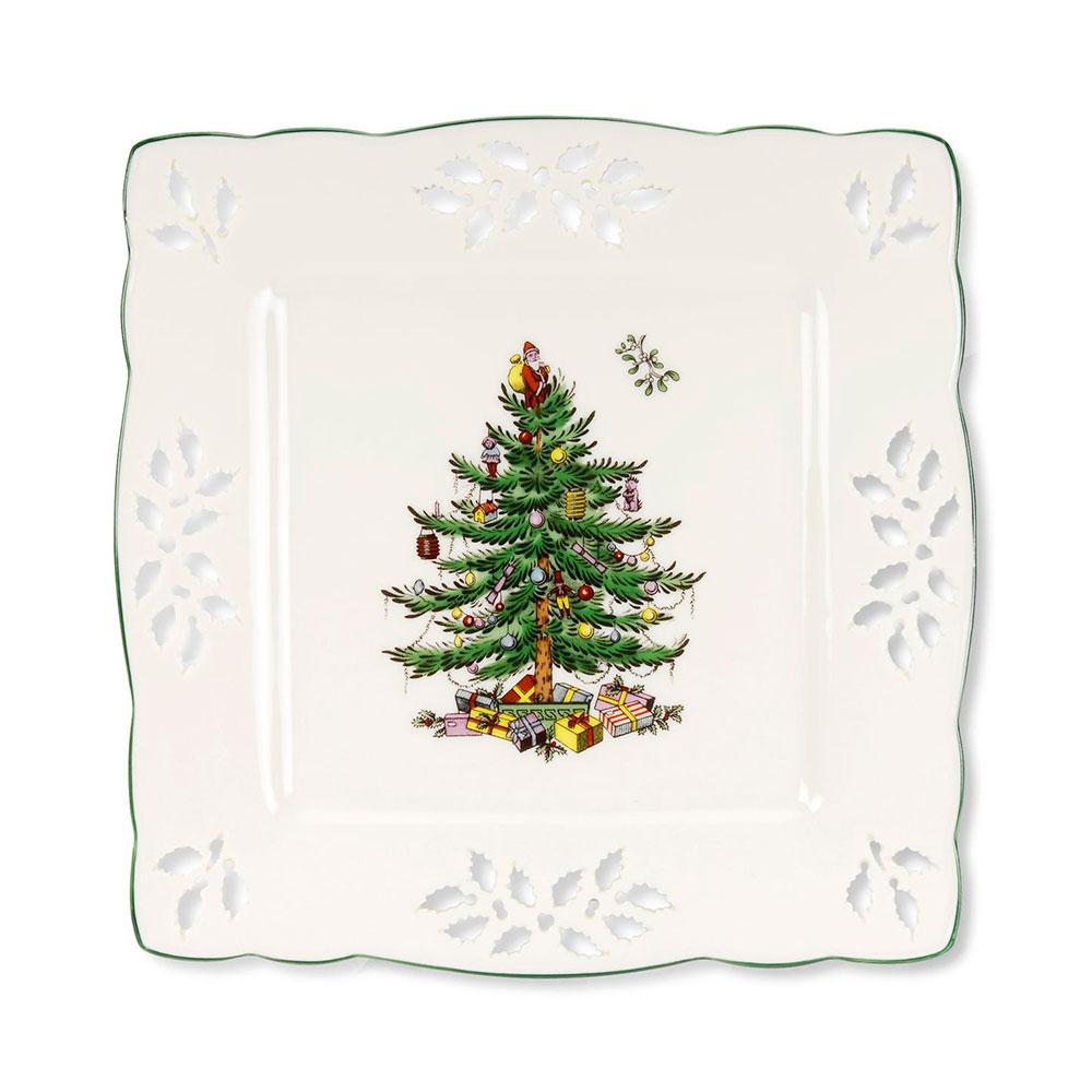 Christmas Tree Fat 19×19 cm
