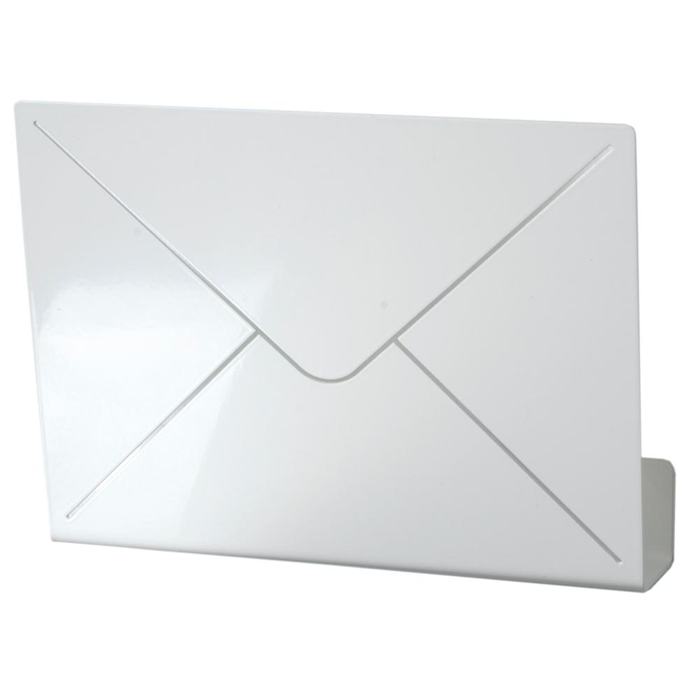 Letter Brevhylla Vit Metall