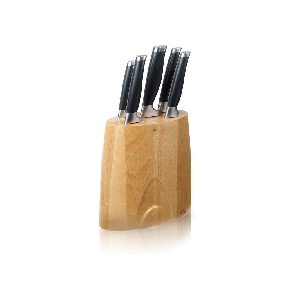 Jamie Oliver Knivblock med 5 knivar