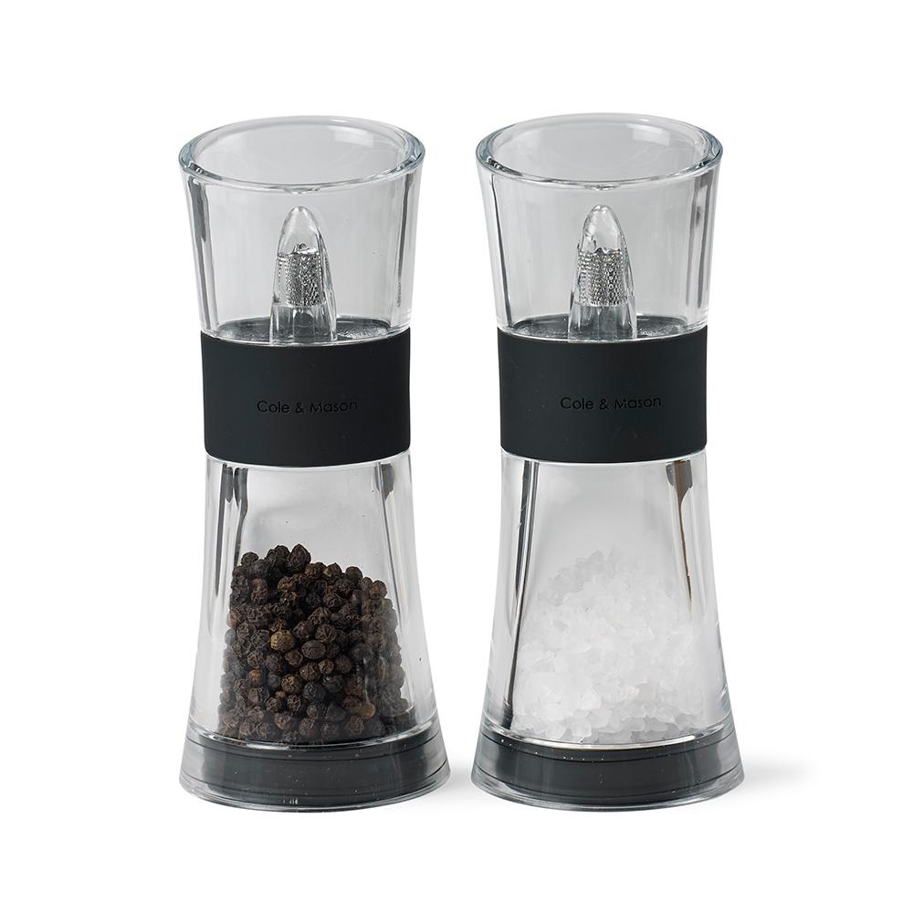 C&M Salt & Pepparset Flip 180 Svart