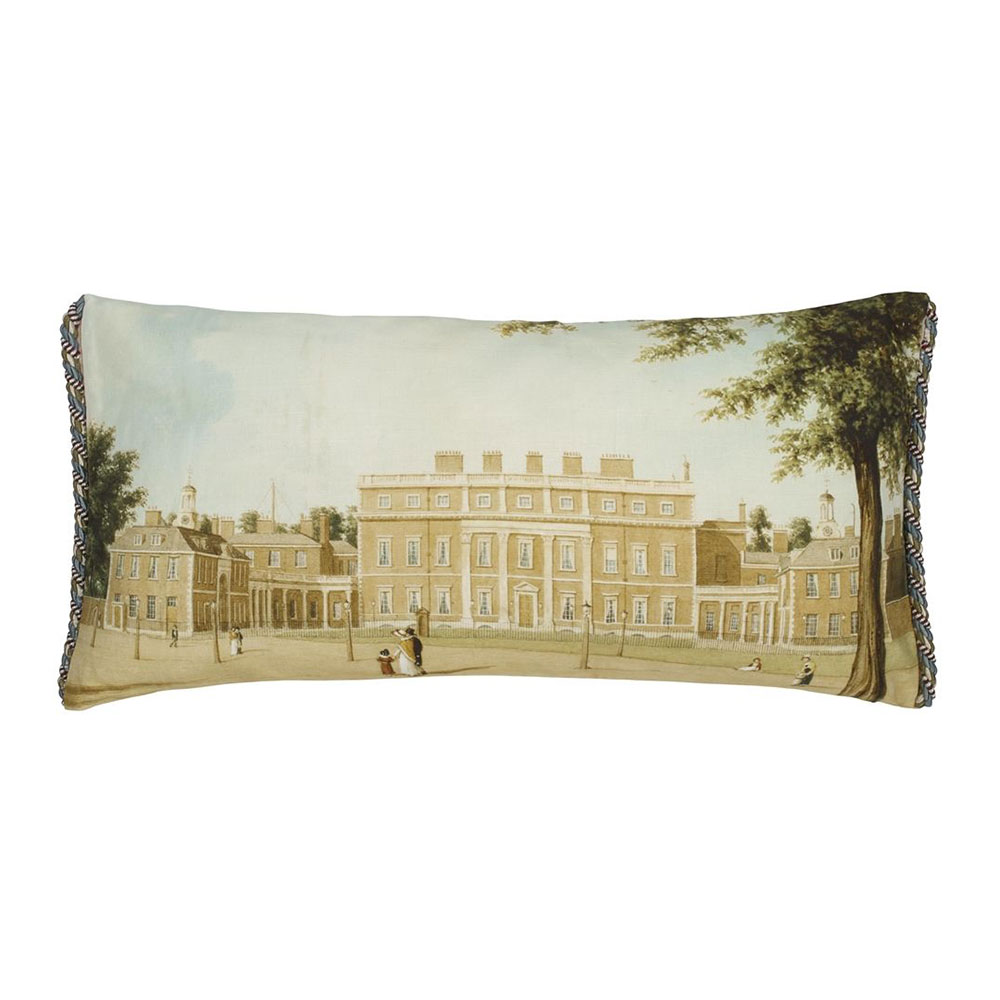Royal Collection Buckingham House Linen Kudde