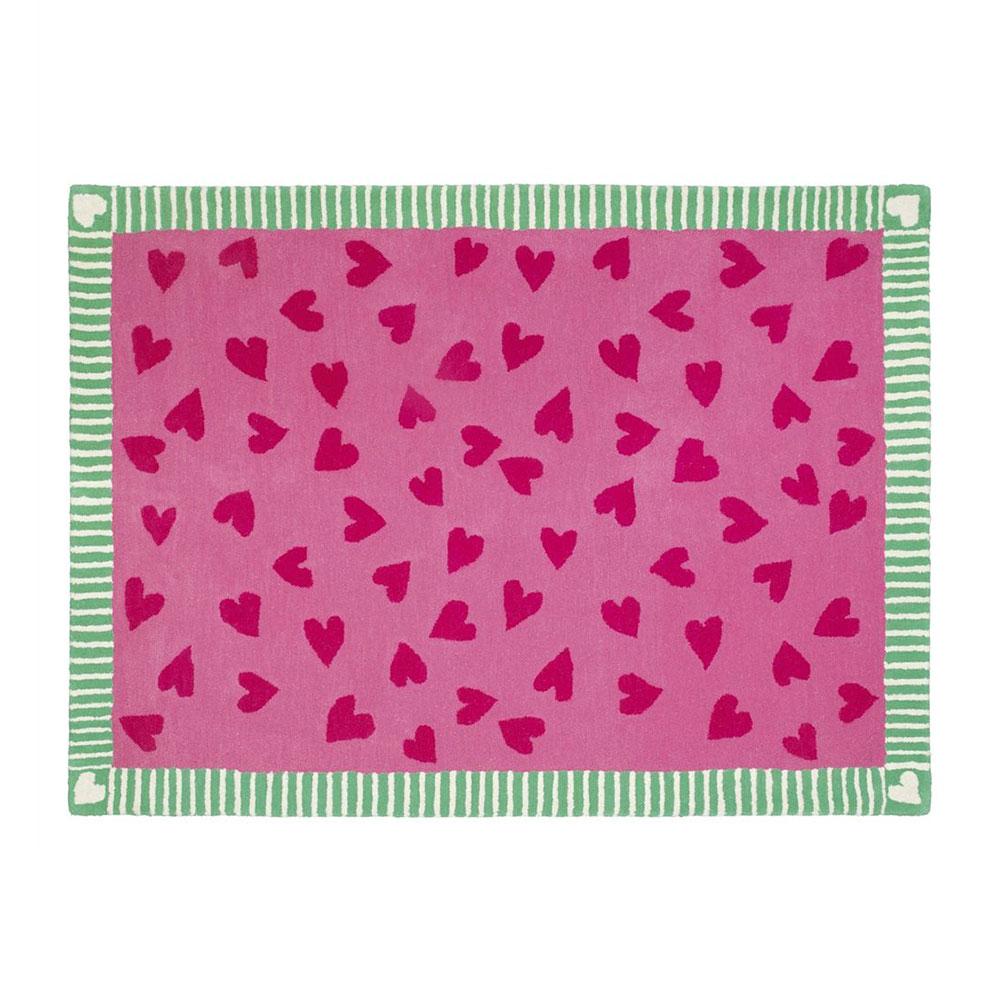 Hearts A Flutter Matta 170x120cm
