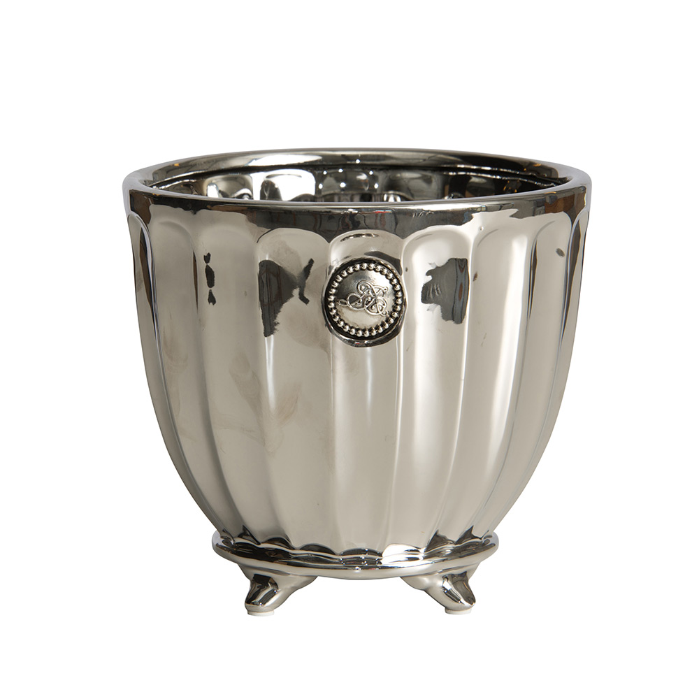 Lene Bjerre Notilde Collection, Blomkruka Silver, Large