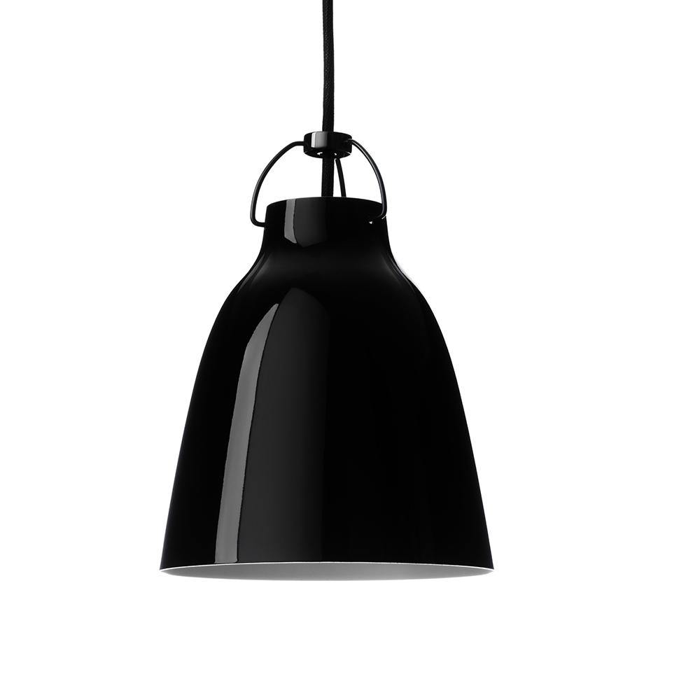 Caravaggio BlackBlack Taklampa P0 Svart