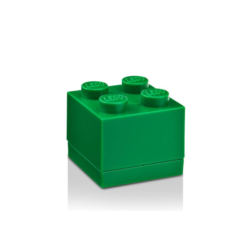 Room Copenhagen Lego Mini Förvaringslåda 4, Mörkgrön